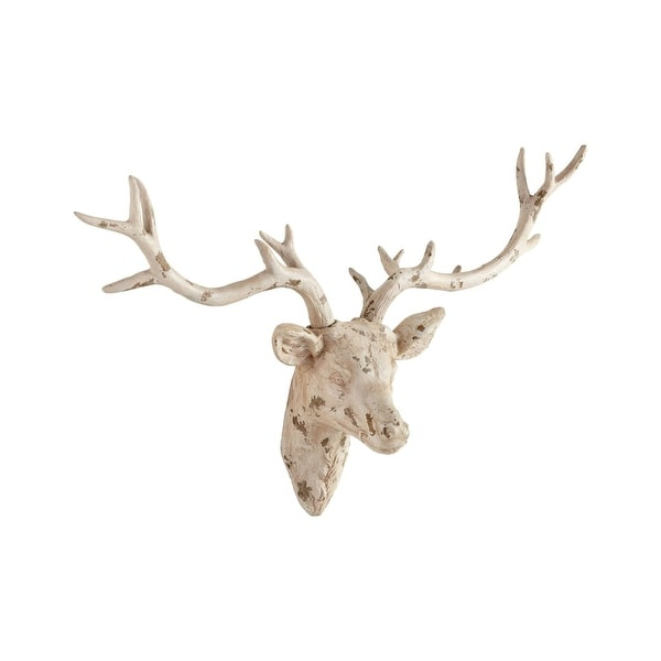 Cyan Design Open Antler Wall Decor 23 75 X 33 Plaster Sculpture