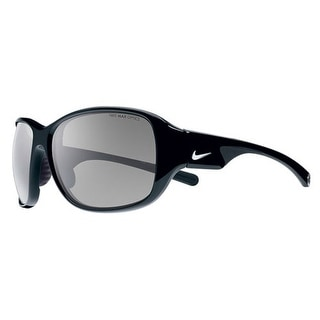 Nike EV0765-067 Exhale Womens Sunglasses Black Frame Gray Lens