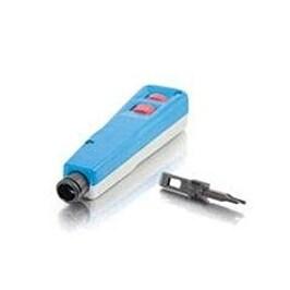 C2g 19957 250V 15A 1.240 Lb 14 Awg Conductors Punchdown Tool - Blue