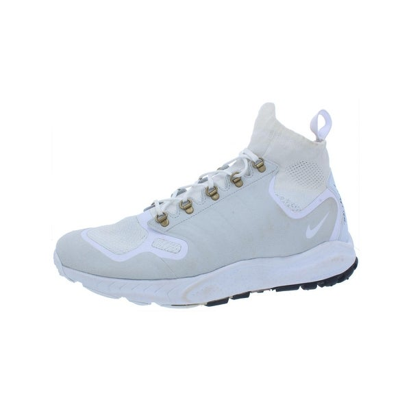 7c37355cad9f44 Shop Nike Mens Zoom Talaria Mid Flyknit High Top Sneakers Defender ...