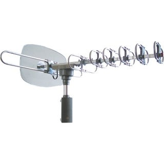 Supersonic SC-609 Supersonic 360º HDTV Digital Amplified TV Motorized Rotating Antenna - Upto 120 Mile - 28 dB - Satellite HDTV,