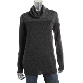 Theory Womens Harlynda Cashmere Colorblock Pullover Sweater - p
