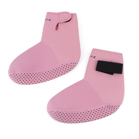 Swim Surfing Neoprene Diving Socks Sand Beach Swimming Shoes Booties Pink S