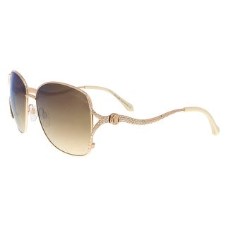 Roberto Cavalli RC887S 28F Meissa Gold Aviator Sunglasses - 59-16-130
