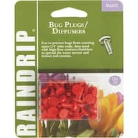 Raindrip 25Pk Bug Plug/Diffusers R647CT Unit: CARD