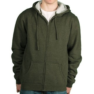 ITC Men's Sherpa Heatherd California Hoodie