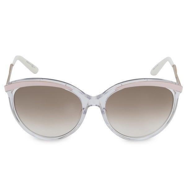 21559c0688bb7 Shop Christian Dior Metaleyes Cat Eye Sunglasses 6OBIQ 57 - Free ...