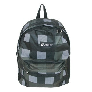 Everest Plaid Pattern Backpack - One size