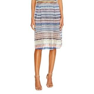 Aqua Womens Flare Skirt Pattern Pull On