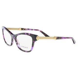 Versace VE3214 5152 Violet Havana Optical Frames - 52-16-140