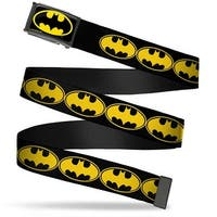 Batman Fcg Black Yellow Black Frame Bat Signal 3 Black Yellow Black Web Belt
