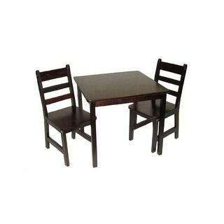 Lipper 514e child's table chair set esprso