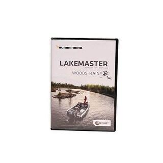 Lakemaster Maps, Lake-Woods/Rainy Lake