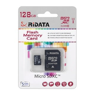 Spytec Mc-Sdcard128 Ridata 128Gb Micro-Sd Card Class 10 W/ Cryptographic Security