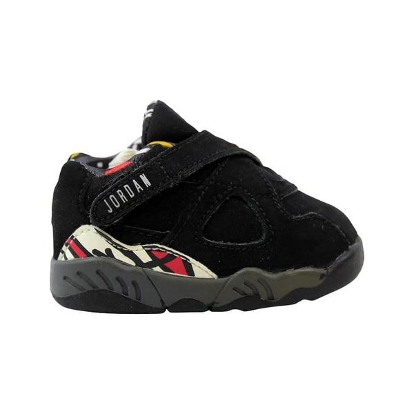 fb2c8fedd0fc Shop Nike Baby Jordan VIII 8 Retro Low Black True Red-Del Sol 306360 ...