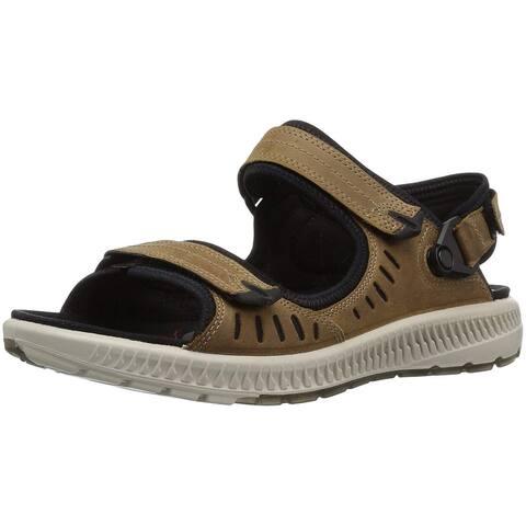 ECCO Womens Terra Open Toe Casual Platform Sandals