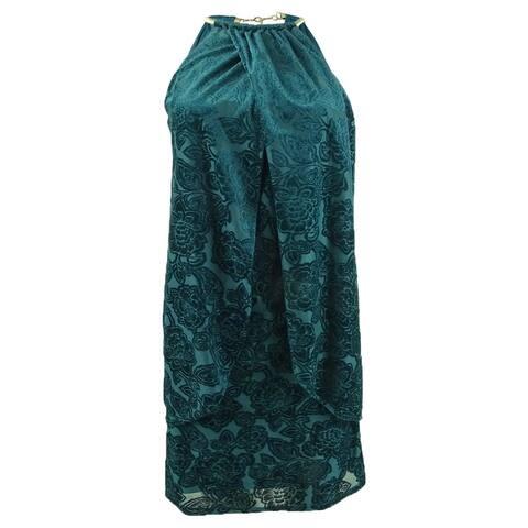 Kensie Women's Velvet Print Dress