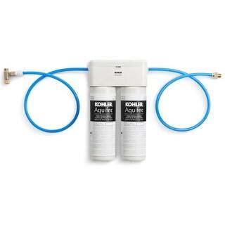 Kohler K-77686 Aquifer Double Cartridge Water Filtration System - n/a - N/A