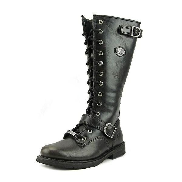 6b520564841 Shop Harley Davidson jill Women Leather Black Motorcycle Boot - Free ...