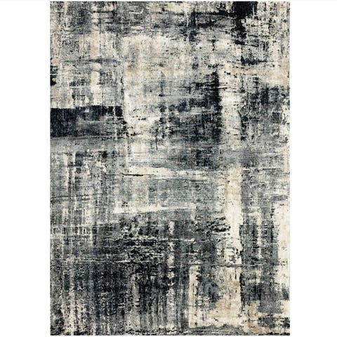 Alexander Home Glacier Abstract Modern & Contemporary Rug