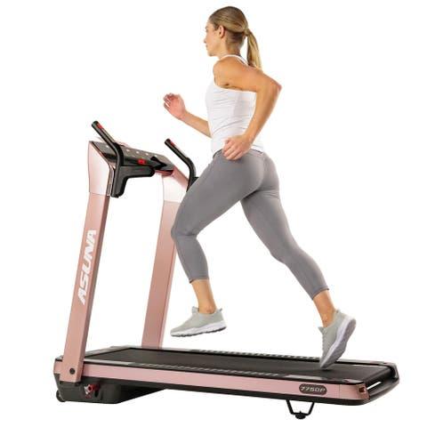 Asuna SpaceFlex Motorized Treadmill Pink