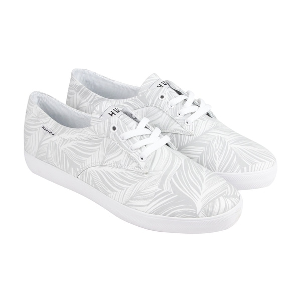 HUF Sutter Mens White Canvas Lace Up Sneakers Shoes