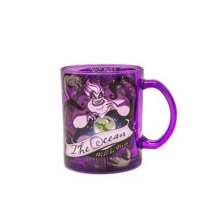 Disney Villains Ursula 17.5 oz Colored Glass Mug