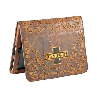 Gameday iPad Case Cover College Team Iowa Hawkeyes Brass UIO-IP038-1