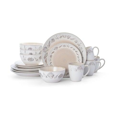 Pfaltzgraff Panama Beige 16 piece Dinnerware Set (Service for 4)