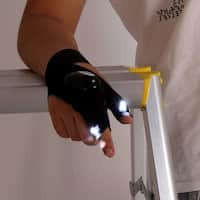 Fingertip LED Glove for Camping, Hiking and Home Repair