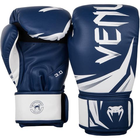 Venum Challenger 3.0 Training Boxing Gloves - Navy Blue/White