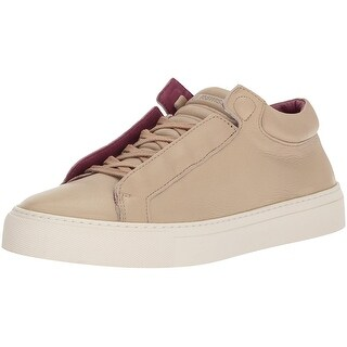 K-Swiss Womens Novo Demi Leather Low Top Lace Up Fashion Sneakers - nomad brown/hawthorn rose