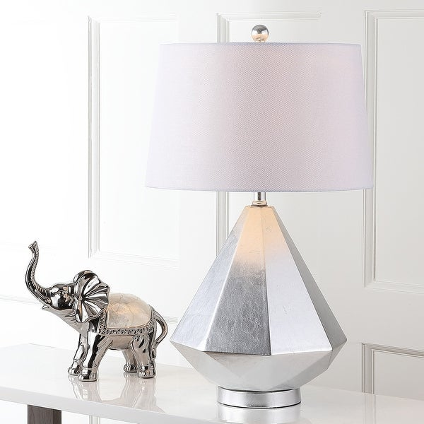 """Safavieh Lighting 28-inch Twain LED Table Lamp (Set of 2) - 16"""" x 16"""" x 27.5"""". Opens flyout."""