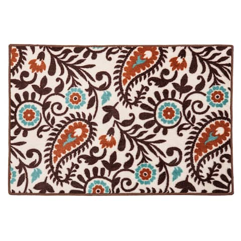 HiEnd Accents Paisley Rug, 24x36