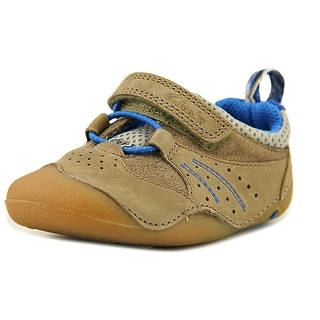 Clarks Cruitrail Toddler  Round Toe Leather Brown Sneakers