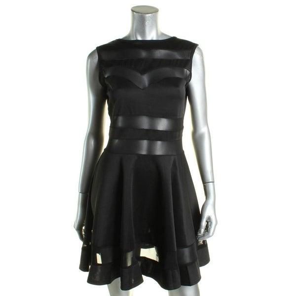 e2bfb4ab35 Oxiuli Fashion Womens Babydoll Dress Satin Sheer - l
