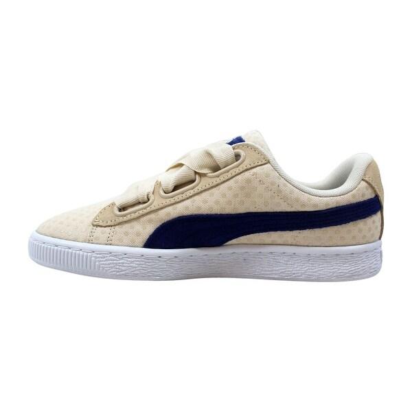Puma Basket Heart Denim Oatmeal Twilight Blue (W) 363371 03