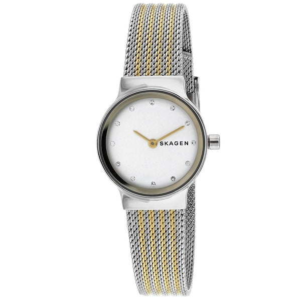 7b8c29072 Shop Skagen Women's Freja SKW2698 White Dial watch - Free Shipping Today -  Overstock - 24226124