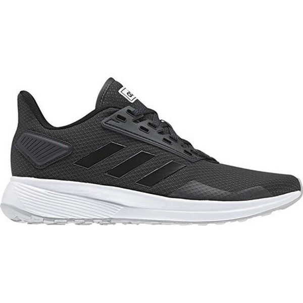Shop adidas Women s Duramo 9 Running Shoe Carbon Black Grey Two - Free  Shipping Today - Overstock - 25433753 fd66433a4