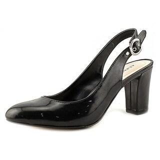Alfani Laylaa   Round Toe Synthetic  Slingback Heel