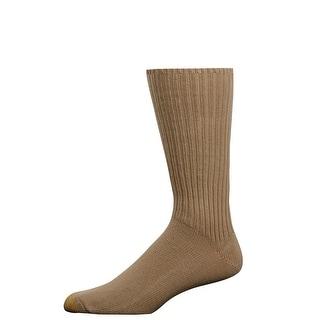 Gold Toe Men's Fluffies Cotton Crew Socks, Shoe Size 6 - 12 1/2 - One Size