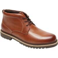 Rockport Men's Marshall Chukka Boot Cognac Leather