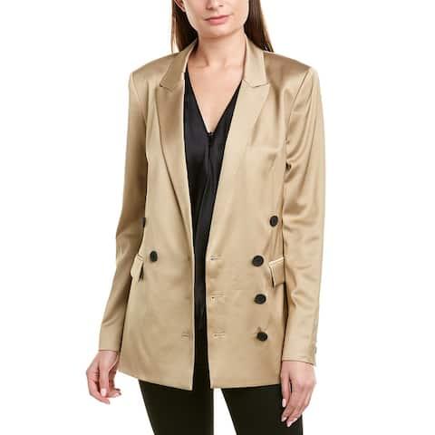 Jason Wu Gold Shine Suiting Jacket