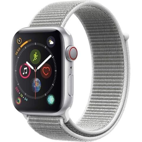 Apple Watch Series 4 (GPS Cellular) 44mm Aluminum Case, Silver