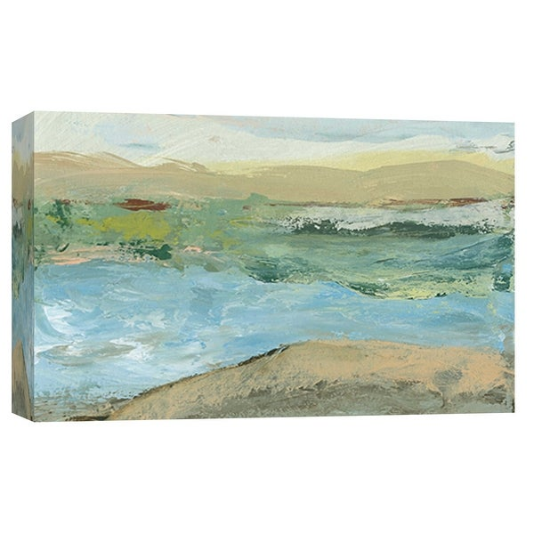 """PTM Images 9-101919 PTM Canvas Collection 8"""" x 10"""" - """"Landscape Study 17"""" Giclee Forests and Mountains Art Print on Canvas"""