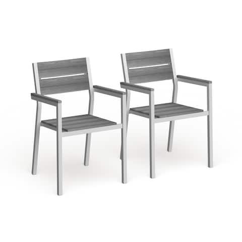 Steinhatchee Outdoor Armchair (Set of 2) by Havenside Home