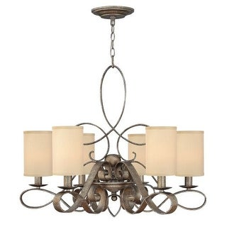Fredrick Ramond FR42506 6 Light 1 Tier Chandelier from the Monterey Collection