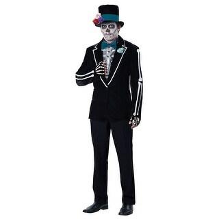 Mens El Novio Muerto Halloween Costume