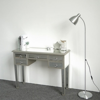 """Link to 41"""" Illusions Collection Mirrored Entryway Console Dressing Table - 5Draws Similar Items in Bedroom Furniture"""