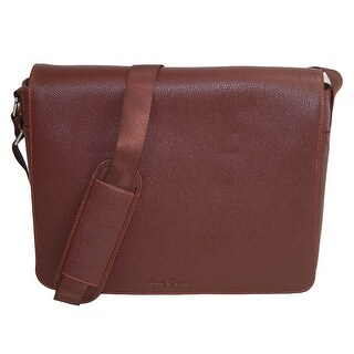 Robert Graham Men's Haizel Messenger Bag - Cognac